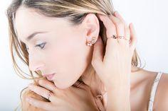 ROSE - #AddictedTo #Jewel #Jewelry #fashion #moda #estilo #fashionblogger #barcelona #inlove #tendencias #livestyle #style #blogger #new #jewellery #rings #earrings #necklace