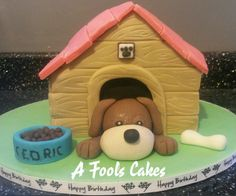 Puppy cake! #puppies #afoolscakes