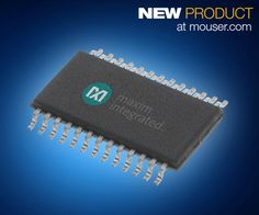 Maxim MAX11216 24-Bit ADC with PGA Only at Mouser