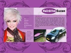 De website van de rondrijdende kapster Suzan.  http://www.hairdrive-suzan.nl