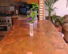[Countertop2 Concord Sheet Metal[6]]. Cooper KitchenCopper CountertopsGraniteRustic  ...