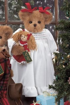Polly & Dolly❤ ❤ ❤ Ideas for Christmas dressing on characters