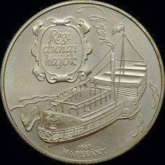 Hableany 1867, barco del Danubio, Hungría