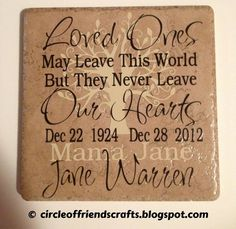 Memory Tile. I'll defiantly be doing this for my Mom!