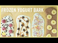 (23) EAT | Frozen Yogurt Bark, 4 Ways! - YouTube