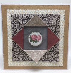 card by Jo Street using Craftwork Cards Deco and Decadence papers and toppers