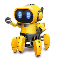 Buy GE - 893 Steam Education DIY AI Smart Robot Infrared Evades Bonds Walking ABS Child Toy, sale ends soon. Be inspired: enjoy affordable quality shopping at Gearbest! Robots For Kids, Toys For Boys, Kids Toys, Ai Robot, Robot Kits, Battlestar Galactica, Bugatti Veyron, Apple Tv, Galactik Football