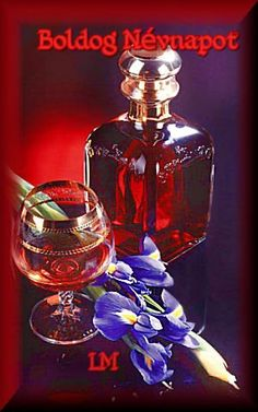 Photo by Lady Moon Happy Name Day, Happy Names, Whisky, Perfume Bottles, Cooking Recipes, Erika, Alcohol Intoxication, Flasks, Drinkware