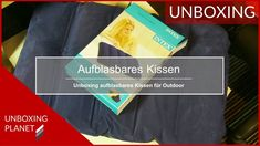 Aufblasbares Kissen für Outdoor-Camping-Angeln - Unboxing Planet Video News, Videos, Camping, Outdoor, Fishing, Campsite, Outdoors, Outdoor Camping, Outdoor Life
