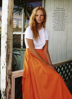 "lovelostfashionfound: ""Marloes Horst - Glamour Magazine March 2011 """