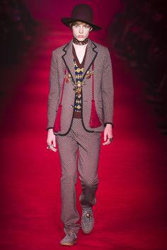Gucci Menswear Fall 2016