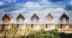 Beach huts. Seaview Duver. May 2014.