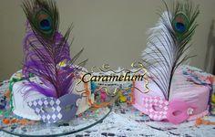 Bolo Mascara de Carnaval