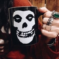 Misfits coffee mug; I must own this...