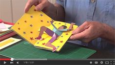Duncan Birmingham's Guide to Pop-Up Design and Paper Mechanics. Pop-Up books and workshops. Arte Pop Up, Pop Up Art, Fun Fold Cards, 3d Cards, Kirigami, Cultura Maker, Tarjetas Pop Up, Pop Up Greeting Cards, Paper Engineering