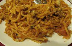 Spaghetti aglio, olio e pane fritto - La ricetta di Buonissimo