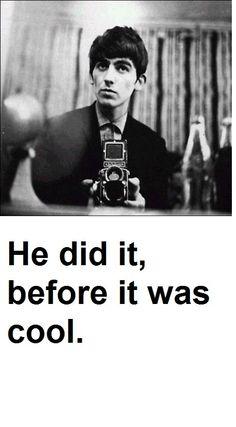 George Harrison Beatle #selfie