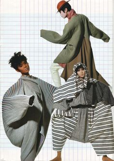Japanese Invasion: Issey Miyake designs 80s