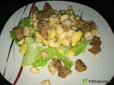 caesar salát Chicken, Meat, Fitness, Cubs
