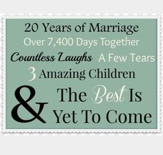 20 years & counting <3 <3 <3