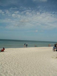 Beach at Naples Florida.