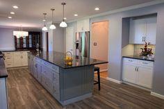 Such a gorgeous #KitchenRemodel done by our #MSCteam #ModernStyleConstruction #MSCwork #RemodelingDC #HomeRemodel #InteriorDesign