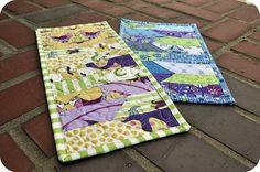 tutorial http://sewmamasew.com/blog2/2011/05/ziggity-mug-rug-tutorial-john-from-the-fat-quarterly-team/
