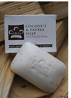 Have a case of the cold winter blues? Escape to the tropics with our Coconut & Papaya soap.   Vanilla Beans buff skin as Papaya's enzymatic action gently exfoliates. Organic Shea Butter and Coconut Oil rehydrate the skin leaving it moisturized and renewed.