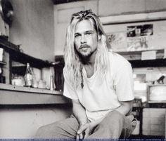 Brad Pitt - pre-babies, pre-Angelina, pre-B.S. Those were the days.