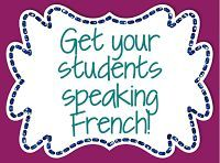 Fun and effective teaching resources for FSL, Core French, and French immersion teachers. Study French, Core French, Study Spanish, French Teacher, Teaching French, French Lessons, Spanish Lessons, Ways Of Learning, Learning Spanish