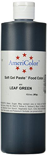 Americolor Soft Gel Paste Food Color 135Ounce Leaf Green >>> Click image to review more details.