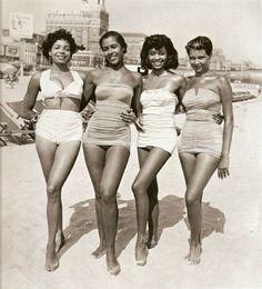Beach Beauties, 1950s