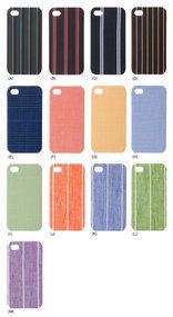 Textile for iPhone 英国の老舗テーラー監修の高級服地を使用したiPhoneケース