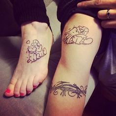69 Heart-Warming Sister Tattoo Ideas