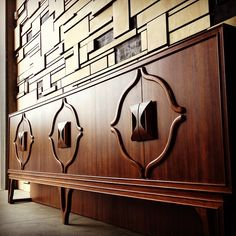 Beautifully Detailed Mid-Century Credenza