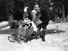Walt and Lillian Disney 1933