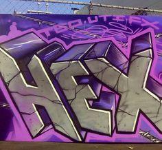 Graffiti urban art powerpoint template is one of the best powerpoint 137 likes 2 comments hector hex rios hextgo on instagram toneelgroepblik Gallery