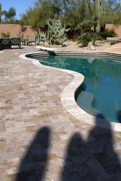 travertine pool deck (remodel)