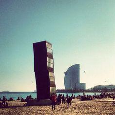 barceloneta- beach. summer- sea- barcelona