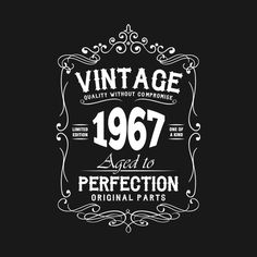 Shop Vintage 1981 Aged To Perfection vintage birthday gift t-shirts designed by smillingtees as well as other vintage birthday gift merchandise at TeePublic. 40th Birthday Images, 1974 Birthday, 40th Birthday Quotes, Birthday Wishes Cards, Birthday Pictures, Birthday Ideas, Happy Birthday Vintage, Happy 40th Birthday, 40th Birthday Parties