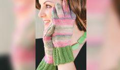 Berei solank voor vir die winter en brei hierdie mooi handskoene met vingers Coral, Meet, Knitting, Crochet, Vintage, Fashion, Projects, Moda, Tricot