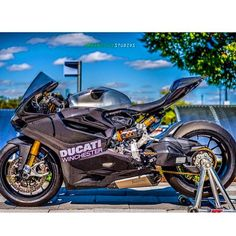 """Post a black emoji 