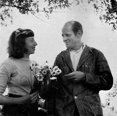 Lee Krasner and Jackson Pollock / married 1945 until his sudden death in 1956.  11 yrs.