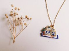 My little house necklace by themoa on Etsy