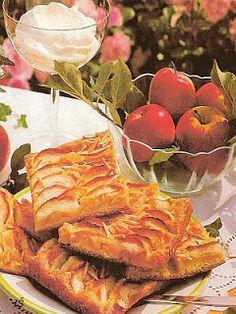 Fotorecepty: Jablkový koláč