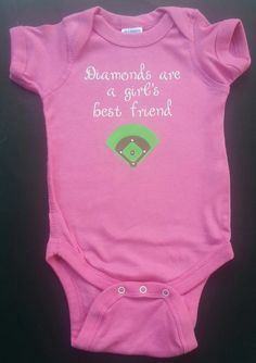 Diamonds Are A Girl's Best Friend Short Sleeve by DumaisDesigns, $12.50