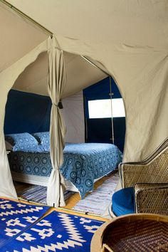 a safari tent at pagoda lodge, keri keri, new zealand // smitten studio