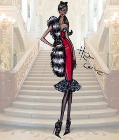 Hayden Williams Haute Couture FW15: Look 2 | Look 2 | Hayden Williams | Flickr