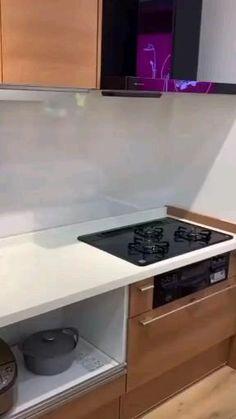 Kitchen Cupboard Designs, Kitchen Room Design, Diy Kitchen Storage, Modern Kitchen Cabinets, Home Room Design, Modern Kitchen Design, Home Decor Kitchen, Interior Design Kitchen, Kitchen Organization