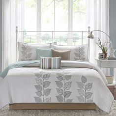 Marissa 6 Piece Quilted Coverlet Set
